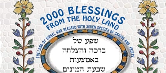 2000 ברכות מאר הקודש
