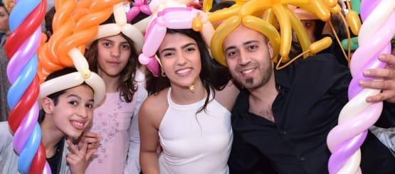 קרנבל כובעי בלונים