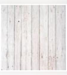 טפט מדבקה 35*35 דגם פרקט לבן