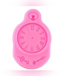 שבלונה מסיליקון ליצירת שעון + מחוגים