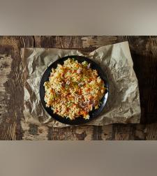 אורז של עופר - אושפלו עם נתחוני טלה ואווז מעושנים - מחיר ל1 ליטר
