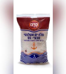 מלח ים אטלנטי טבעי גס - כרם
