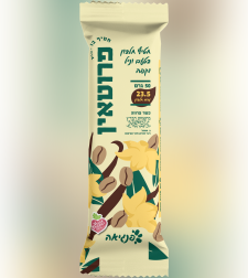 פרוטאין חטיף חלבון בטעם וניל קפה