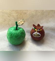 מארז diy חגי תשרי-פיסול תפוח ורימון