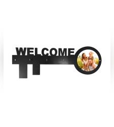 הדפסה על מפתח ברכה על 3 מתלים WELCOME