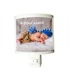 מנורת לילה עם תמונה