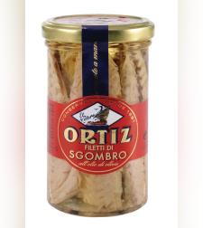 פילה מקרל בשמן זית ORTIZ