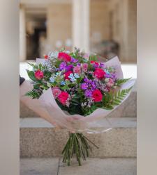 זר פרחים קרן שמש ראשונה של אביב #120