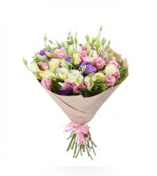 זר פרחים רכות מפנקת #43