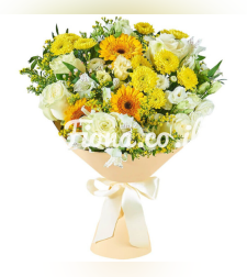 זר פרחים חגיגת הקיץ #112