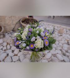 זר פרחים אושר אביבי #213