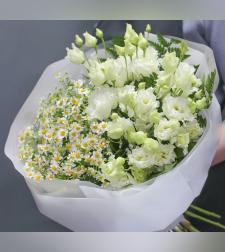 זר פרחים לחישה רכה #117