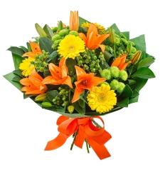 זר פרחים דייט לילי #11