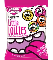 Caring Candies - Sugar Free Little Lollies 80g