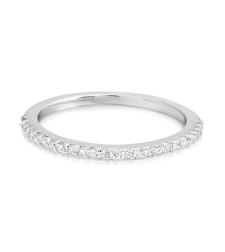טבעת נישואין עם יהלומים WR1542