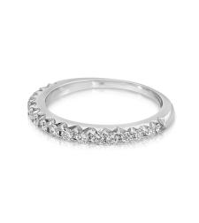 טבעת נישואין עם יהלומים WR1360