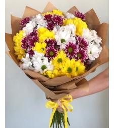 זר פרחים בוקר קיצי #39