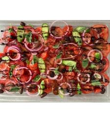 סלט עגבניות עונתיים