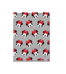שמיכה - מיני מאוס אדום לבן