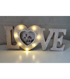 מסגרת שלט עץ Love