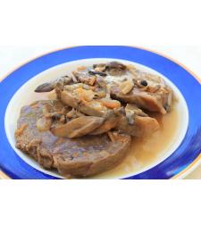 אוסובוקו ברוטב ירקות - מנה