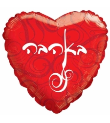 באהבה לב אדום