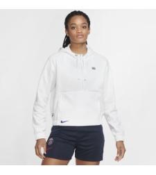 חולצת נייק נשים | Paris Saint-Germain Women's Cropped 1/2-Zip