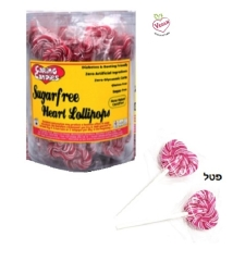Caring Candies - Sugar Free Heart Shaped 10 gr Lollies
