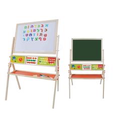 לוח מגנט וכתיבה ענק+אותיות א' ב'