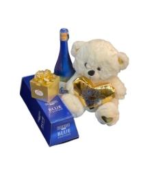 מארז דובי, יין ושוקולד