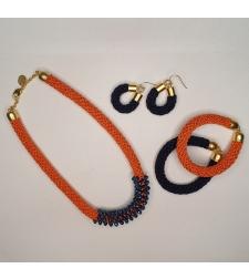 סט מושלם | שרשרת, צמידים, עגילים