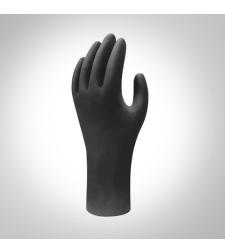 כפפות ניטריל שחורות עמידות לכימיקלים EN374