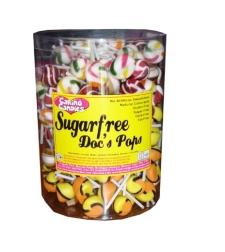 סוכריות יפה פופ על מקל ללא סוכר בטעמיים שונים - 8 גר'