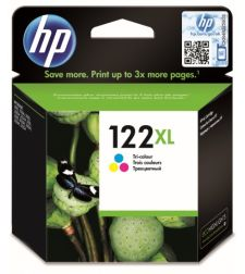 ראש דיו צבעוני מקורי HP No: 122XL CH564HE