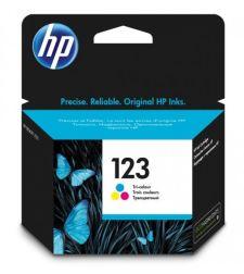ראש דיו מקורי שלושה צבעים HP 123 F6V16AE