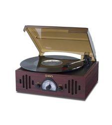 פטיפון עם רדיו וכניסת AUX מדגם ION Audio Trio LP