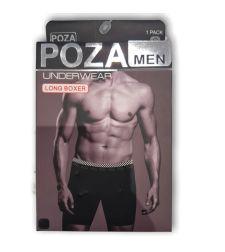 בוקסר ארוך לגבר POZA 02111112