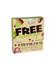 FREE פרי חטיף תמרים חמוציות ותפוחי עץ - מארז 5 יח'
