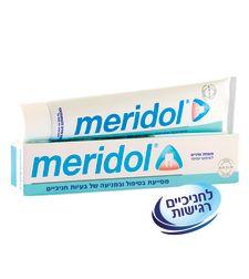 מרידול משחת שיניים מסייעת בטיפול ומניעה של בעיות חניכיים