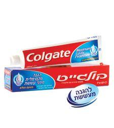 קולגייט אדומה משחת שיניים