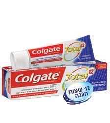 קולגייט טוטאל הלבנה משחת שיניים