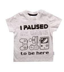 חולצה GAMER סלאב בנים 2-8 2137890B