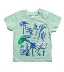 חולצה דינוזאורים סלאב בנים 2-8 2137890C
