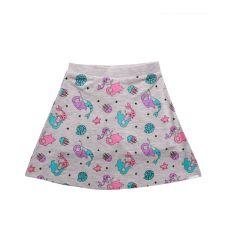 חצאית מודפסת בת הים עם מכנסון בייבי 3-24M 2137903A