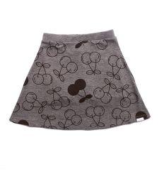 חצאית מודפסת דובדבנים עם מכנסון בייבי 3-24M 2137903D