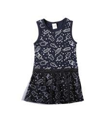 שמלה גופיה עם חצאית טול סינגל ג'רסי ארטיקים בייבי בנות 3-24M 2137489-5