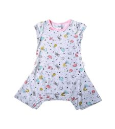 שמלה סינגל ג'רזי SUMMER בייבי בנות 3-24M 2137489-7