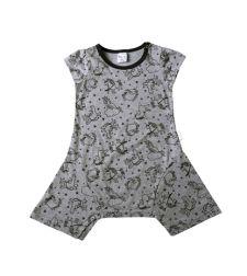 שמלה סינגל ג'רזי חד קרן בייבי בנות 3-24M 2137489-9