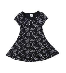 שמלה בגזרת טי שירט סינגל ג'רזי ארטיקים בייבי בנות 3-24M 2137489-10