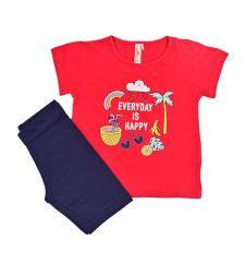 חליפות גן ס.ג'רסי +לייקרה 6M-24M בייבי בנות 30020113112
